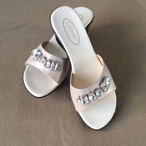 Calisto of California Wedge Sandals Size 7 NWT